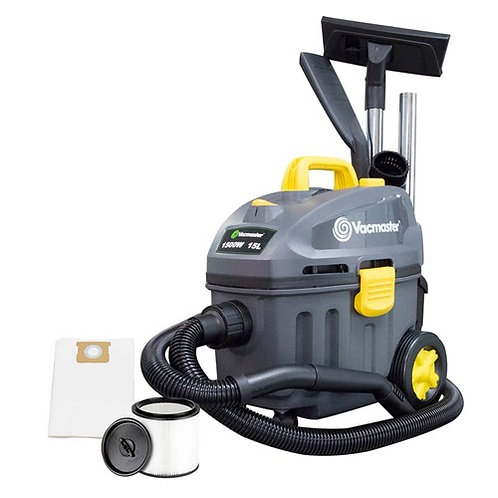 VacamasterWet/Dry Vac Combo - 15L 1500W Vacuume with Filters