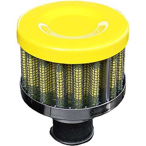 BREATHER FILTER - YELLOW 12MM PERFORMANCE