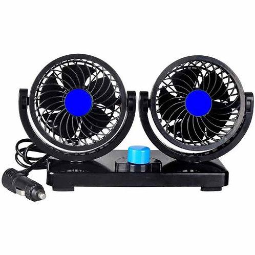 Powerful Compact Twin Fan 12V