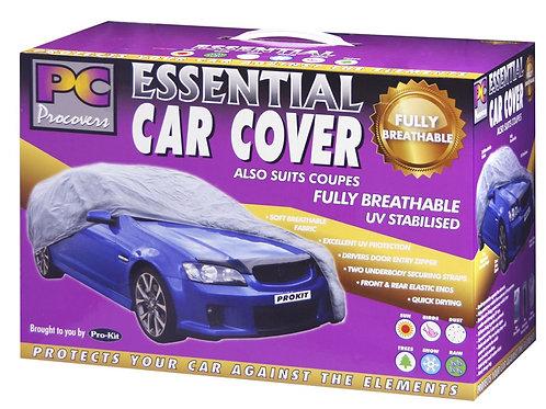 BREATHABL FABRIC CAR COVER