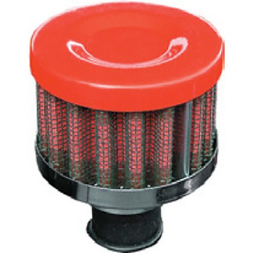 BREATHER FILTER - RED 9MM PERFORMANCE