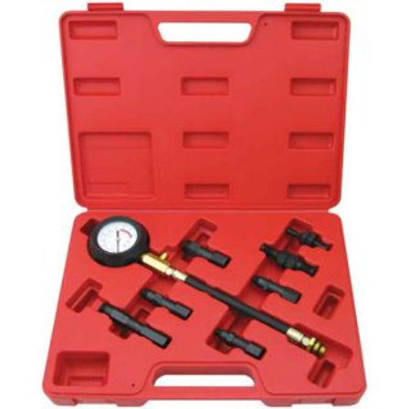 8pc DIESEL ENGINE COMPRESSION TESTER KIT