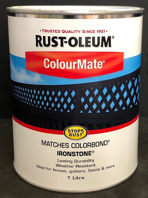 COLORBOND PAINT COLOUR IRONSTONE