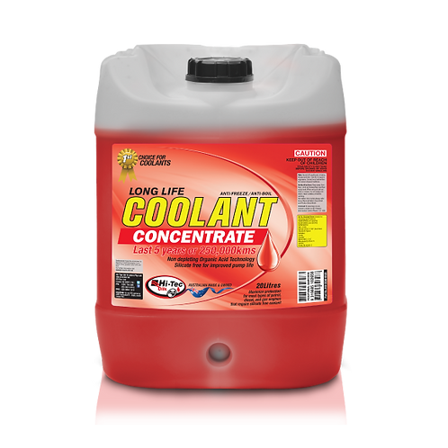LONG LIFE COOLANT RED