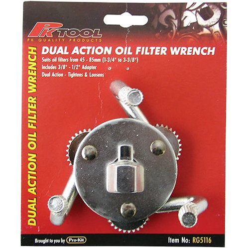 OIL FILTER WRENCH - 3 CLAW 45-85MM