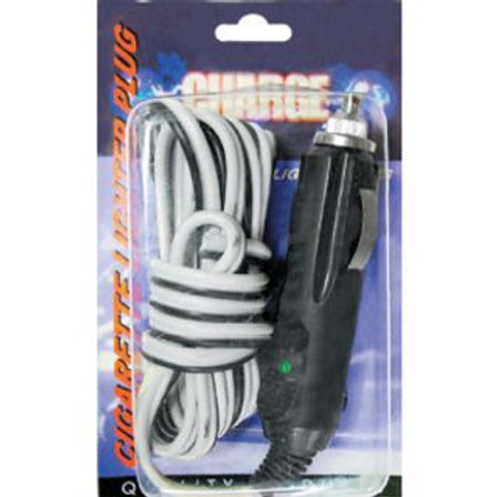 CIGARETTE LIGHTER ACCESORY REPLACEMENT PLUG - WITH 2MTR WIRE