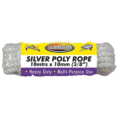 ROPE - SILVER 10MTR x 10mm