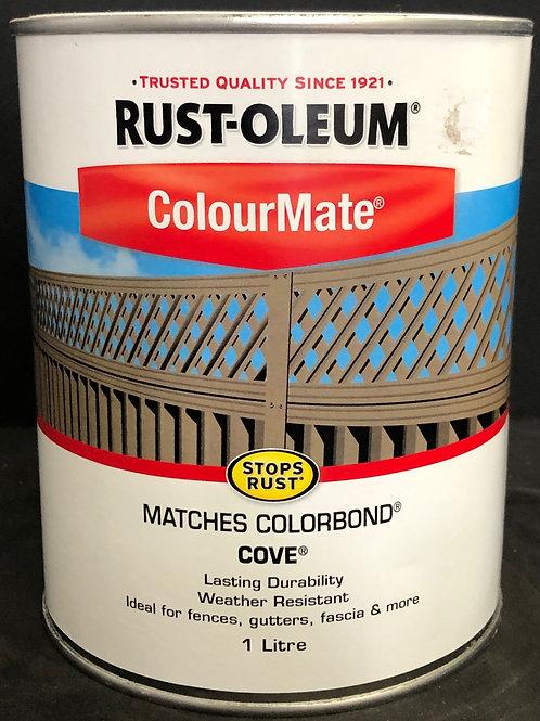 MATCHES COLORBOND COLOUR COVE