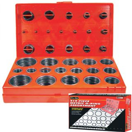 419pc O-RING ASSORTMENT
