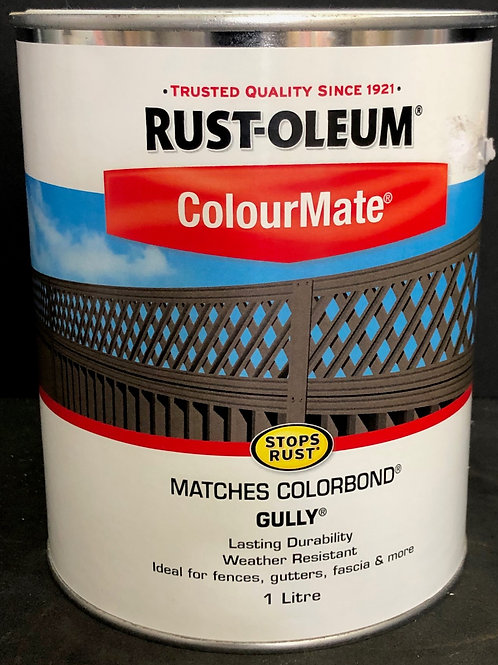 MATCHES COLORBOND COLOUR GULLY