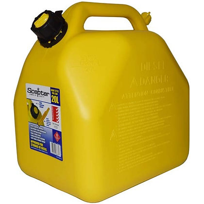 Diesel Jerry Can Squat 18.8L - SCEPTER