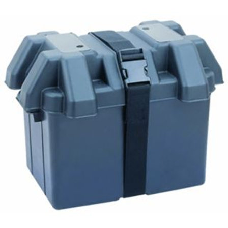 BATTERY BOX - SMALL 275x180x200MM WITH SPARE STRAP