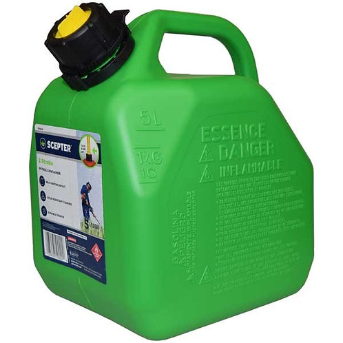 2 Stroke Jerry Can Squat 5L - SCEPTER