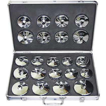 OIL FILTER REMOVAL KIT - 22pc CUP STYLE KIT