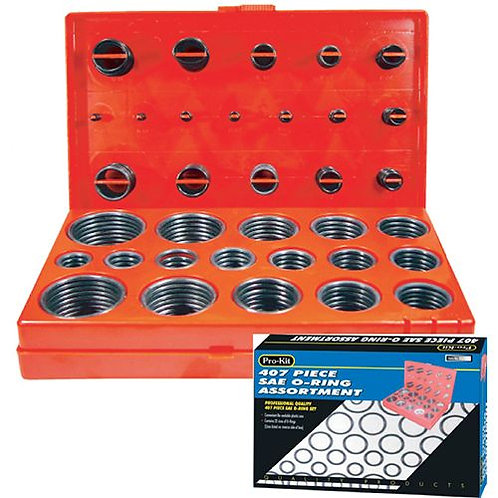 O-RING ASSORTMENT - 407pc SAE