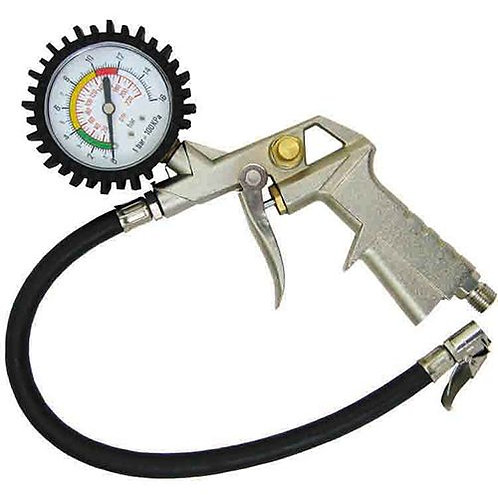 TYRE INFLATOR - WITH GAUGE