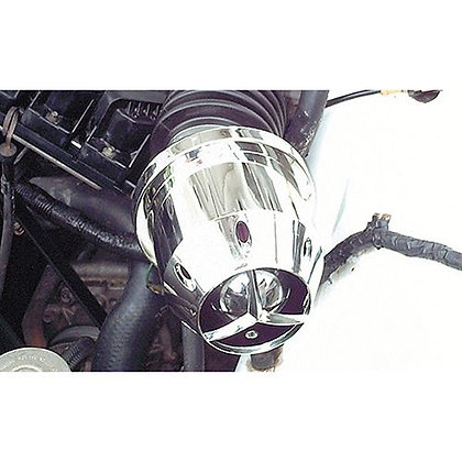 AIR FILTER - POD STYLE ENCLOSED HIGH PERFORMANCE CHROME