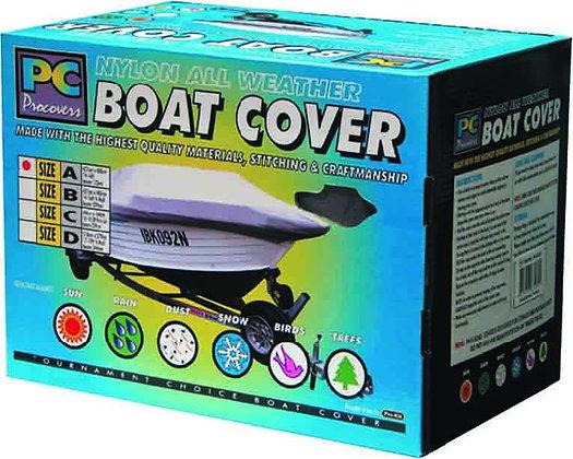 BOAT COVER - LARGE NYLON 16 -181/2FT X 94'' / 2.35M