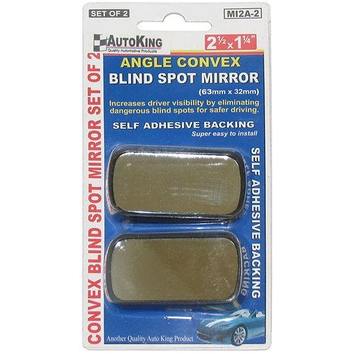 "Blind Spot Mirror 2.1/2"" x 1.1/4"" x 2 - AUTOKING"