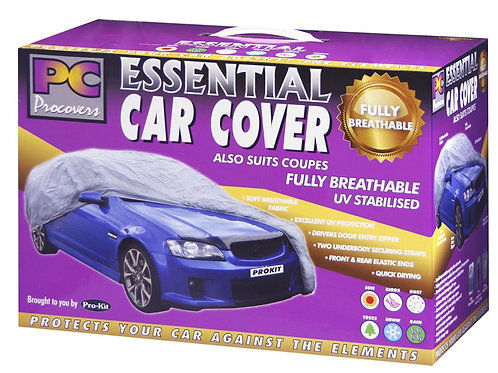 """CAR COVER - EXTRA LARGE BREATHABLE 70G 210"""" x 70"""" x 47"""" (533 x 178 x 119MM)"""