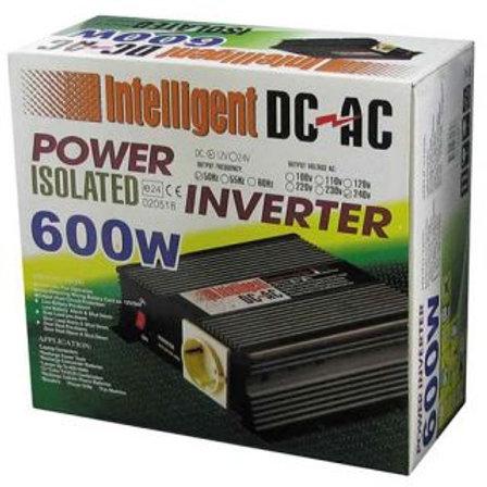 INVERTER - 600W 12V DC TO 240VAC