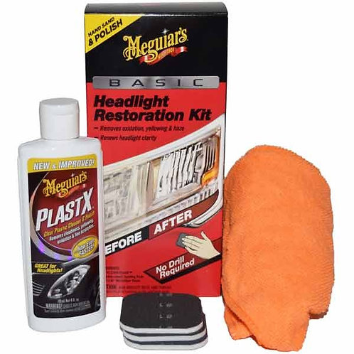 Headlight Lens Restoration Kit - MEGUIARS