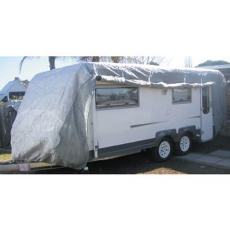 CARAVAN COVER - MEDIUM FITS OVERALL LENGTH 5.4 TO 6MTR/18-20FT (6 x 2.6 x