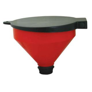 FUNNEL - 250MM WITH LID AND ADAPTOR
