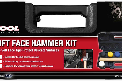 9pc SOFT FACE HAMMER KIT