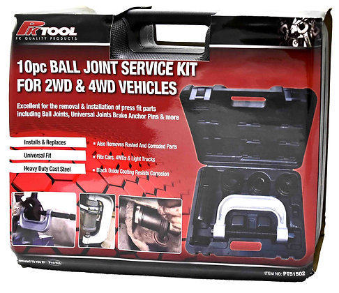 10pc BALL JOINT SERVICE KIT FOR 2WD & 4WD VEHICLES