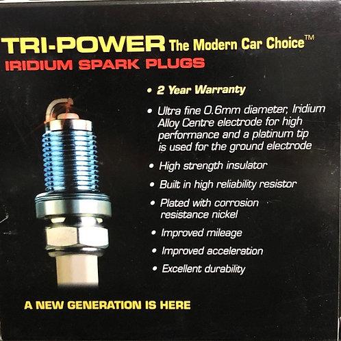 TRI- POWER SPARK PLUGS