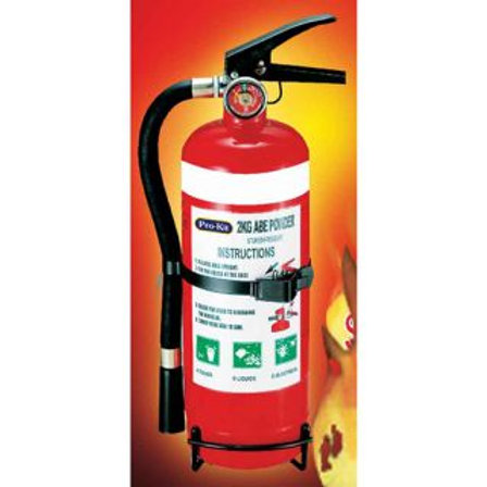 FIRE EXTINGUISHER - 2KG ABE DRY POWDER
