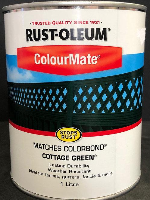 MATCHES COLORBOND COLOUR COTTAGE GREEN