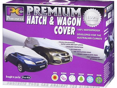 "HATCH/WAGON COVER - SMALL-MEDIUM 100% WATERPROOF 160"" x 65"" x 47"" (406 x 165 x 1"