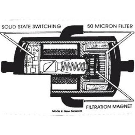 FUEL PUMP - 12v ELECTRIC PISTON STYLE 6 X 8 CYL