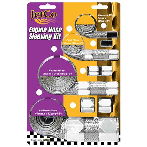 HOSE SLEEVING KIT - SILVER