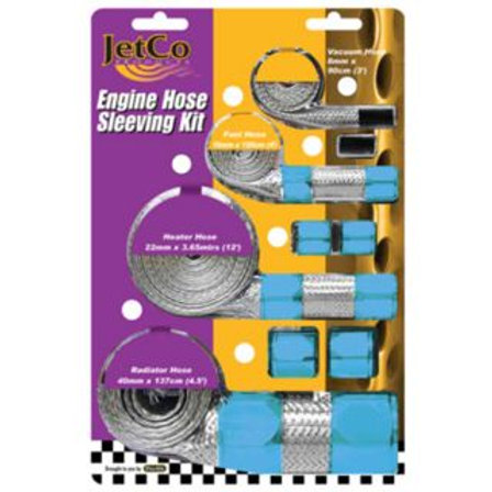 HOSE SLEEVING KIT - BLUE
