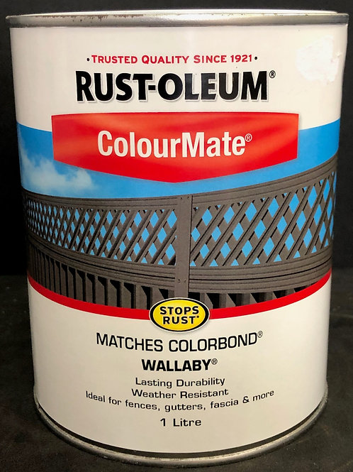 MATCHES COLORBOND COLOUR WALLABY