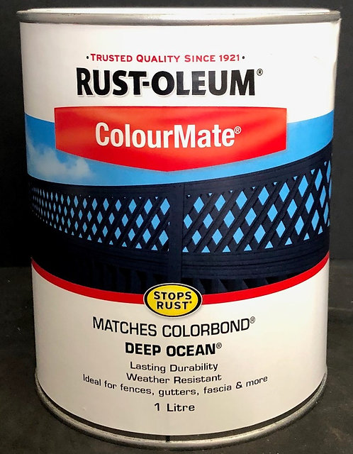 MATCHES COLORBOND COLOUR DEEP OCEAN