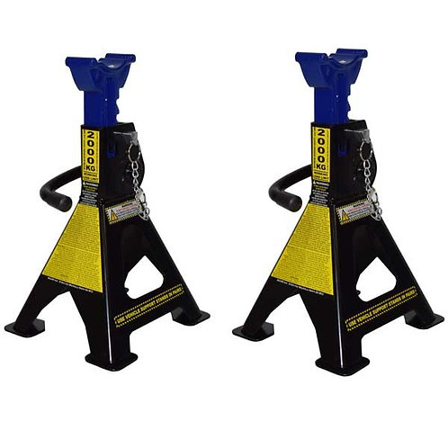 Jack Stands Ratchet Type 2000KG - TOOLKING