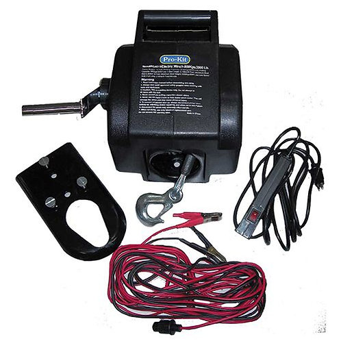 WINCH - 12V ELECTRIC 2000LB