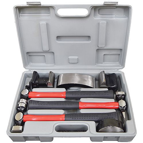 CAR BODY REPAIR KIT - 7pc WITH FIBRE GLASS HANDLE