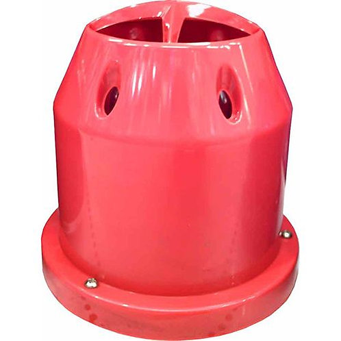 AIR FILTER - POD STYLE ENCLOSED HIGH PERFORMANCE RED