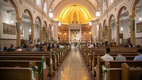 Wedding at St. Boniface Catholic Church