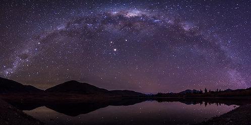 Stars above Lake Camp