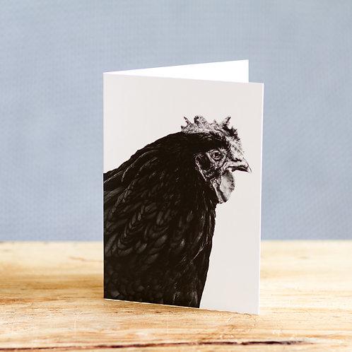 Cheryl chicken - card