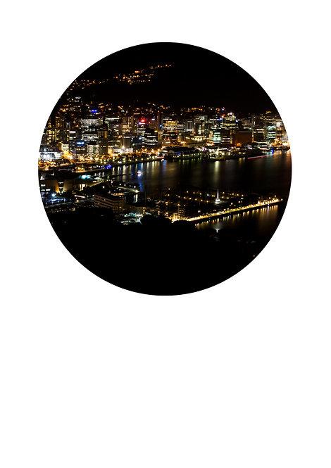 Night lights circle