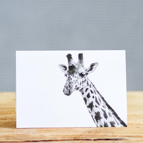Gerry giraffe - card