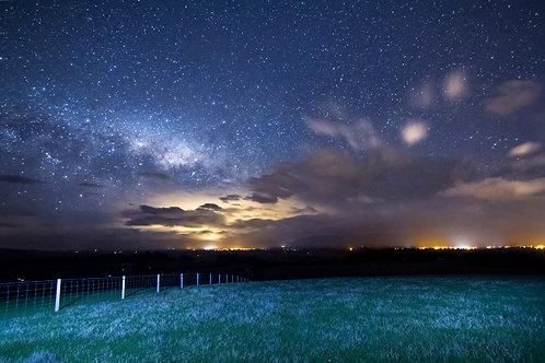 Night lights of Carterton