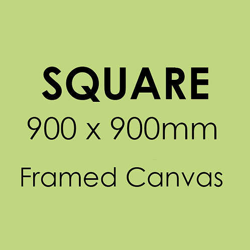 SQUARE 900mm x 900mm Framed Canvas